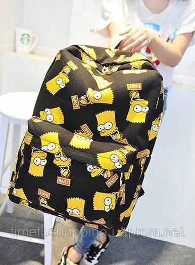 Уникальный рюкзак Барт Симпcон!