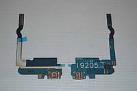 Шлейф (Flat cable) с коннектором зарядки, микрофона для Samsung Galaxy Mega 6.3 i9200 | i9205 | i9208