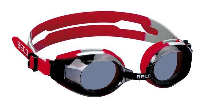 Окуляри для плавання BECO Arica Pro червоний/чорний 9969 01