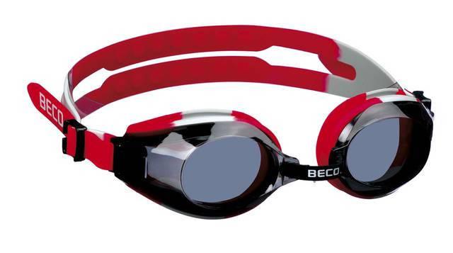 Окуляри для плавання BECO Arica Pro червоний/чорний 9969 01, фото 2