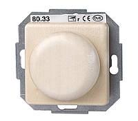 Регулятор освещения поворотный (димер), натуральный  клен