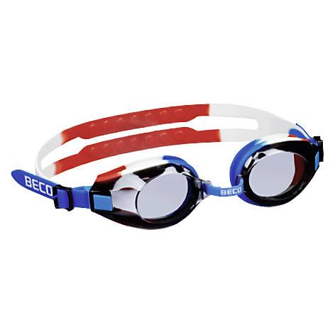 Окуляри для плавання BECO Arica Pro синій/білий/червоний 9969 615