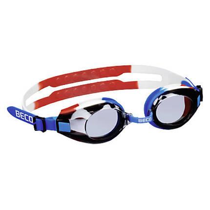 Окуляри для плавання BECO Arica Pro синій/білий/червоний 9969 615, фото 2