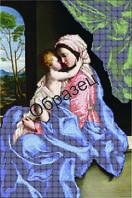 """Схема для вышивки бисером """"Мать и дитя"""""""