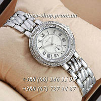Cartier crystal Silver/White