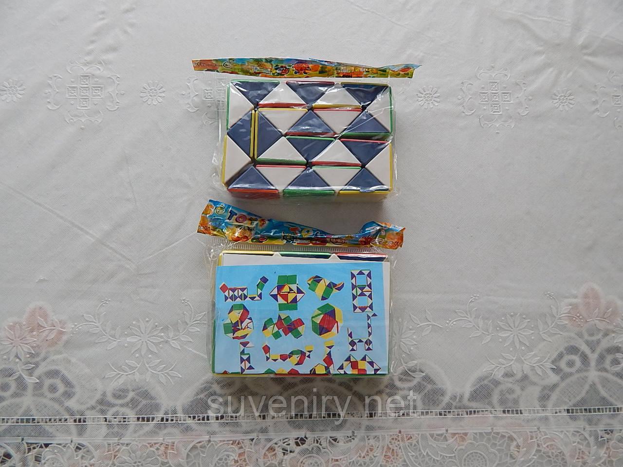 Игрушка кубик-рубик змейка