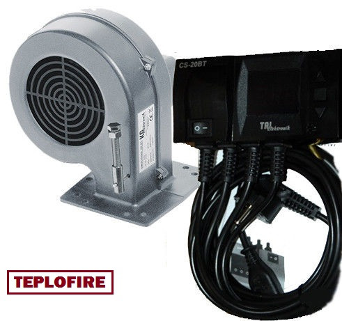 Микропроцессор и турбина для твердтопливного котла TAL Elektronik CS-20 BT + DP-02