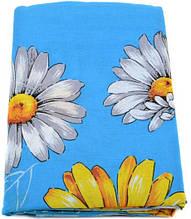 Очаровательный комплект двуспального постельного белья 2,0 бязь Тиротекс 3113-4 голубой