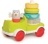 Развивающая машинка с пирамидкой Taf Toys Совушка-малышка (11945)