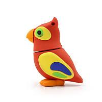"""Флешка """"Попугай"""" (птица счастья) 16 Гб (!!!Флешка отходит от корпуса птицы!!!)"""