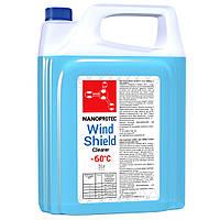 Жидкость стеклоомывателя NANOPROTEC WINDSCHIELD CLEANER-60 5л