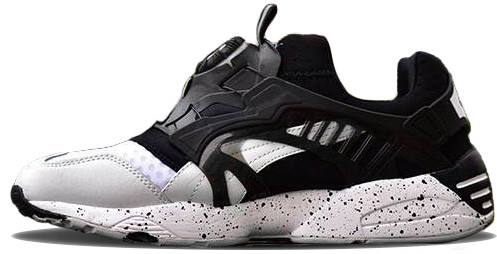 Мужские Кроссовки Puma Disc Blaze Monkey Time Black White — в Категории