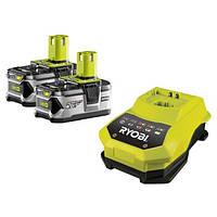 Аккумулятор+зарядное устр-во RYOBI ONE+ RBC18LL40 18V 2бат. 4A/h