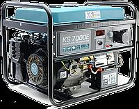 Бензиновый генератор KS 7000E, фото 1
