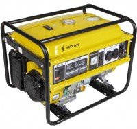 Генератор бензиновый TITAN ПБГ5500Е (5,5кВт/5,8кВт, 4-х тактный, электростарт)