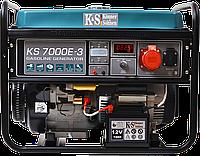 Бензиновый генератор KS 7000E-3 , фото 1