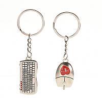 Брелок для ключей клавиатура и мышь