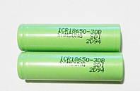 Аккумулятор Samsung ICR18650 3000 mAh. Li-ion батарейки, Samsung аккумуляторы