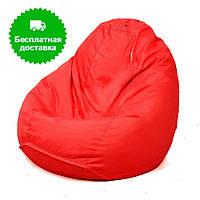 Кресло подушка красное, большое  XXL