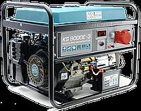 Бензиновый генератор KS 9000E-3 , фото 1