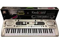 Детский синтезатор Орган с микрофоном MQ-020
