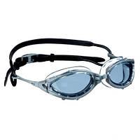 Очки для плавания BECO Racing серый/чёрный 9921 110