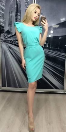 Платье летнее Сиеста ft-264 бирюзовое, фото 2