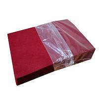Фетр Жесткий Бордовый 1 мм 21x30 см, фото 1