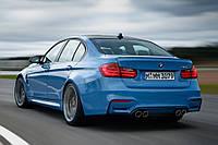 Спойлер сабля тюнинг BMW F30 стиль M Perfomance