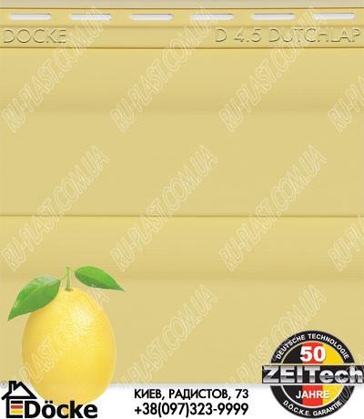 DOCKE сайдинг Лимон фото