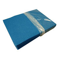 Фетр Жесткий Голубой яркий 1 мм 21x30 см