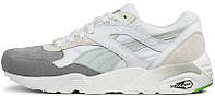 Мужские кроссовки Puma R698 Blocked Trainers Grey / White, пума 698