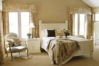 Деревянная кровать в стиле прованс