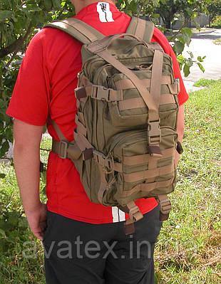 Тактический штурмовой рюкзак койот 25 л.