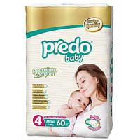 Подгузники детские PREDO BABY MAXI (4) 7-18 кг 60 шт