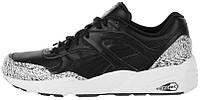 Мужские кроссовки Puma R698 Snow Splatter Pack Black / White, пума 698