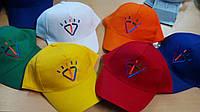 Печать на бейсболках логотипа, вышивка на кепках, фото 1