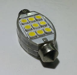 Светодиодная софитная автолампа, 40-42mm, FT-1042-9HP1(Ceramic Substrate) (153 Lm)