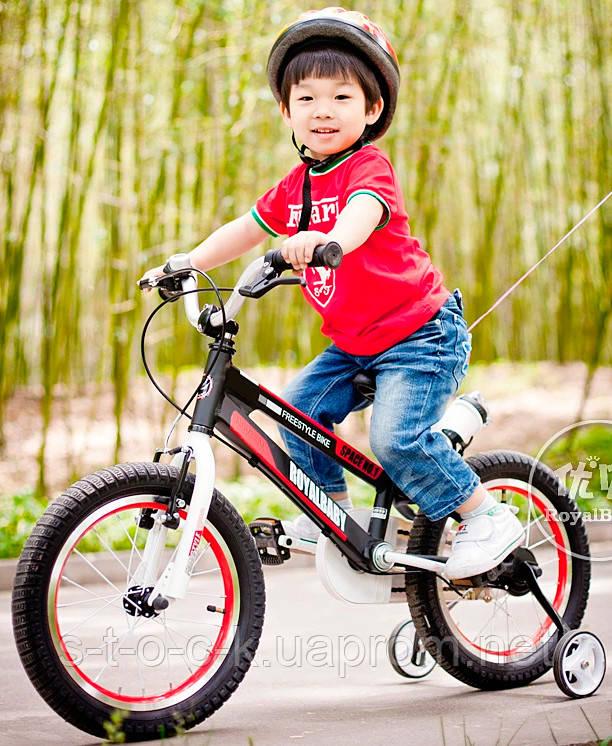 """Детский велосипед Royal Baby Freestyle Space 1 Alloy 12"""". Красный"""