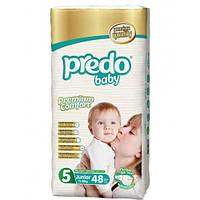 Подгузники детские PREDO BABY JUNIOR (5) 11-25 кг 48 шт