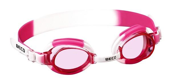 Детские очки для плавания Beco Halifax белый/розовый 9901 14