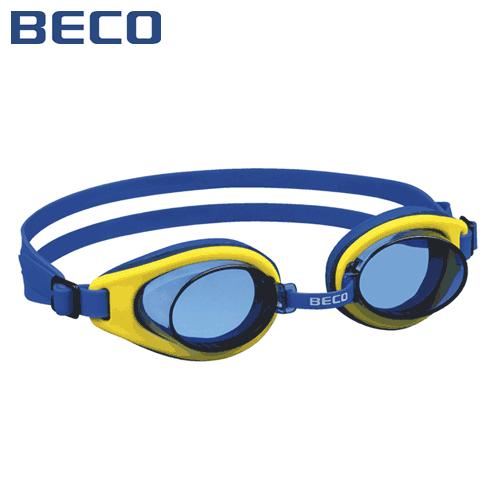 Детские очки для плавания Beco Malibu Pro жёлтый/синий 9939 2