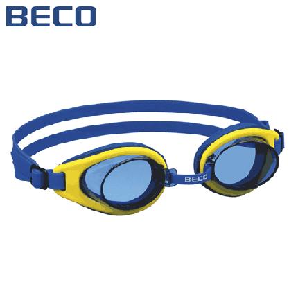 Детские очки для плавания Beco Malibu Pro жёлтый/синий 9939 2, фото 2