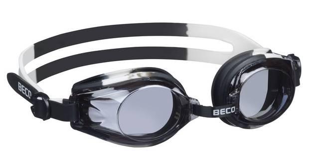 Детские очки для плавания Beco Rimini чёрный/белый 9926 01