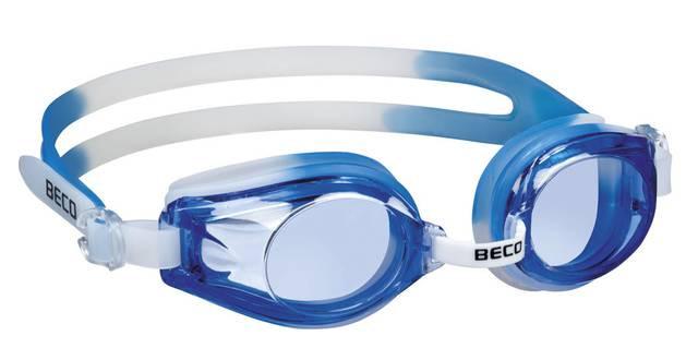 Детские очки для плавания Beco Rimini синий/белый 9926 16