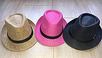 Модная стильная летняя шляпа