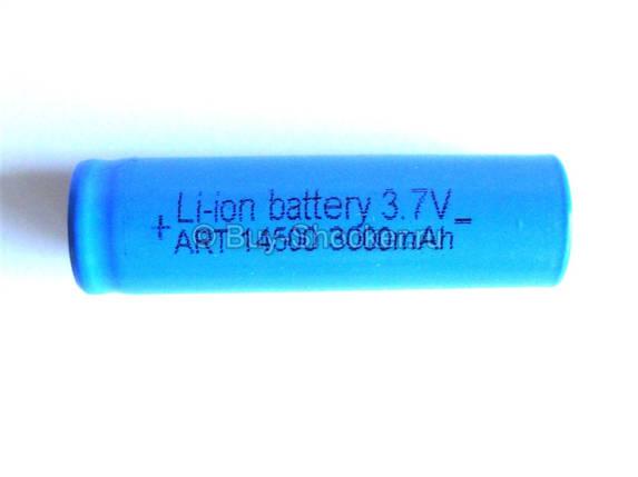 Аккумуляторы общего назначения. Аккумулятор Li-Ion 14500. Аккумулятор Li-Ion 3000 mAh , фото 2
