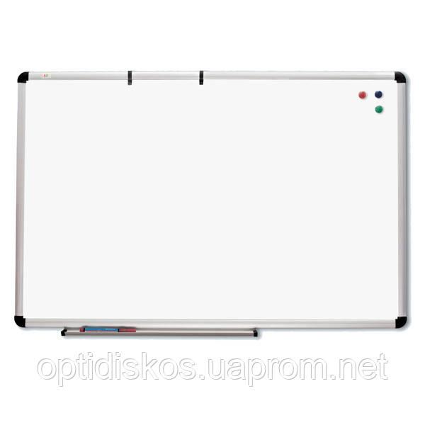 Маркерная доска ABC Office 120 x 220 см, алюминиевая рама S-line