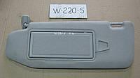 Козырёк от солнца в салоне Mercedes Benz W 220 S-Class после 2002 г.в.