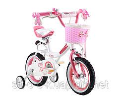 Детский велосипед Royal Baby Princess Jenny Girl Steel 16''. Розовый